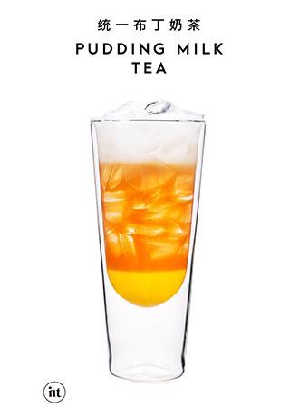 印茶奶茶,统一布丁奶茶