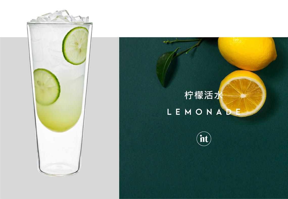 印茶奶茶,柠檬活水